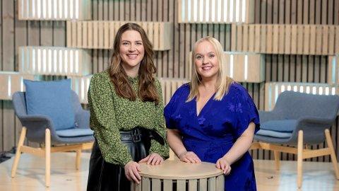 Charlotte Haarvik Sanden og Øyvor Bakke skal vise frem hele Norge til alle i Norge fra januar.