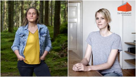 Olaug Nilssen og Sandra Lillebø