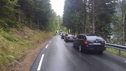 KØ: Strekningen mellom Kykjenes og Kinsarvik på riksveg 13 har fått penger til oppstart, etter at Frp forhandlet dette inn i statsbudsjettet.  Planen er oppstart av anleggsarbeidet på nyåret.