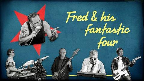 Spiller på Iris Scene: «Dersom du liker svingende og energisk rock'n roll og blues, vil du garantert like Fred & His Fantastic Four», står det i en pressemelding. Pressefoto
