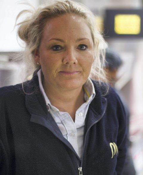 SJOKKERT: Franchisetaker Veronika Sørensen er sjokkert over avsløringene i McDonald's den siste tiden.