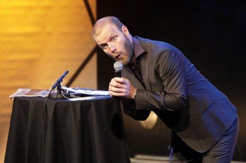 HUMORGALLA:  Bård Tufte Johansen på Byscenen i 2009. Arkivfoto: Grethe Nygaard