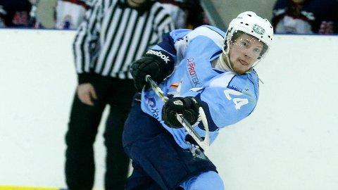 TIL TOPPS: Oskar Östlund og Haugesund Seagulls vant begge kampene mot Kristiansand i helgen. ARKIVFOTO: ALFRED AASE
