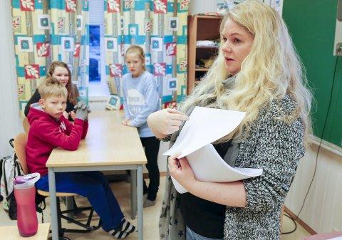 UKE 6: Håland skole på Karmøy, og lærer Janne Linn Kristiansen, var med på kampanjen.