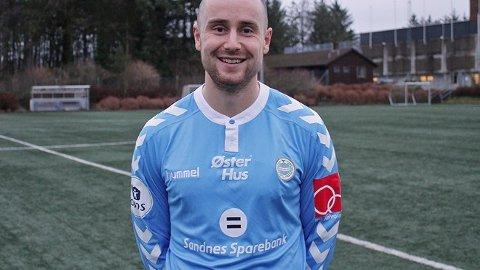 I NY DRAKT: Roy Miljeteig vil spille for Sandnes Ulf de neste to sesongene. Foto: Sandnes Ulf