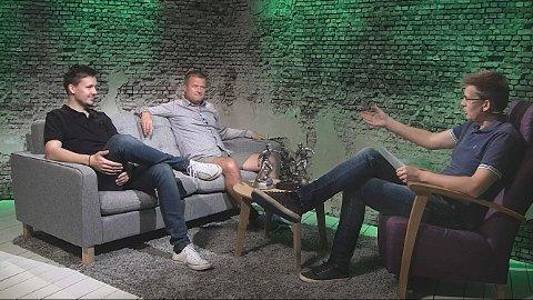 UKENS PANEL: Geir-Åsmund Kristiansen, Odd Kåre Grøttland og Terje Flateby.