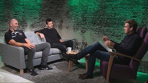 UKENS PANEL: Rune Lothe, Geir-Å. Kristiansen og programleder Terje Flateby.