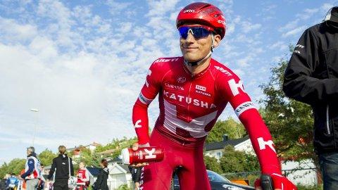 Proffsyklist Sven Erik Bystrøm deltar i Spania Rund.