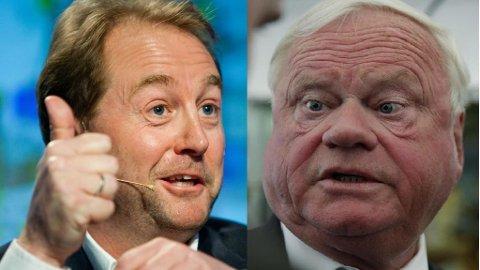 Røkke og Fredriksen slår sine selskaper sammen for å skape en ny offshore-gigant som foreløpig heter Solstad Farstad Foto: Scanpix