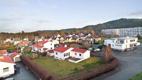 Orionvegen: Dette huset på Solvang skapte kaos i gata på visningen.