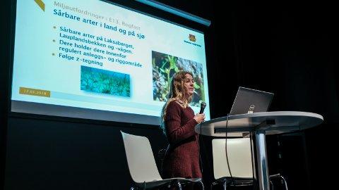 – Jeg prøver hver dag å holde folkene i prosjektet i ørene, sa miljøansvarlig for Rogfast, Merete Landsgård.