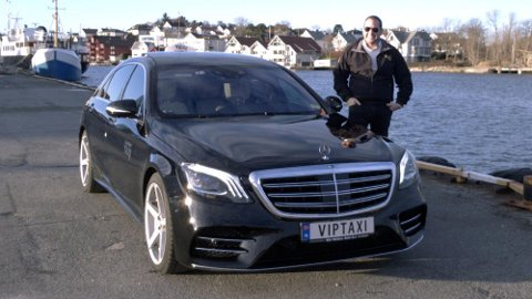 Erlend Kvala har kjørt taxi siden han var 20 år gammel. Nå, sju år senere, har han investert i drømmebilen. En splitter ny Mercedes S-Klasse med største dieselmotor.
