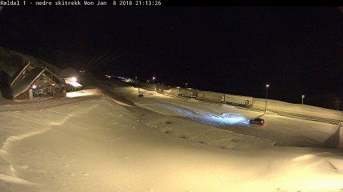 Webkamera til Røldal skisenter