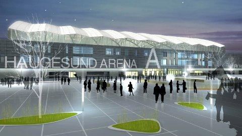 Haugesund Arena nye haugesund stadion flotmyr