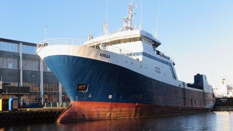 BYGGES OM: Denne båten gir økt omsetning og flere arbeidsplasser på Bømlo.