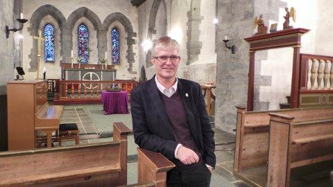 PÅ TOPP: Prosten på Karmøy, Helge Gaard har fått størst oppslutning i avstemningsrunden foran tilsetting av ny biskop i Stavanger bispedømme.