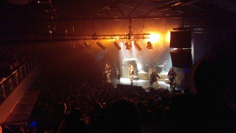 Fra konsert på Byscenen/Bakgården Haugesund