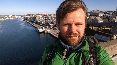 Haugesund på vei til en mer bærekraftig by.  Norges første hybrid hurtigferge til kai.