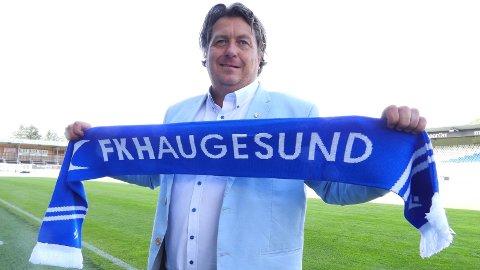 TIL FKH: John Harald Log er ansatt som ny daglig leder i FKH. Han overtar etter Eirik Opedal, som blir sportslig leder i klubben.