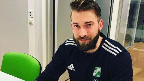 INIATIVTAKER: Christoper Alcock i Kopervik tok initiativet til det nye fotballsamarbeidet i Karmøy.