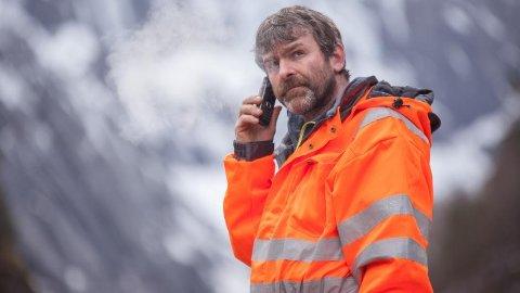 Bjørn Lægreid er bilberger og TV-kjendis i serien Vinterveiens Helter.
