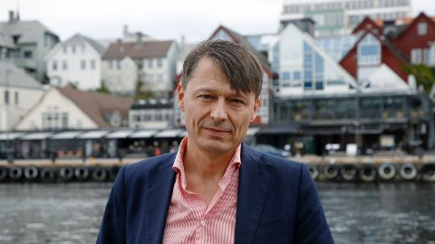 SAMLER LEDELSEN: Inventum-sjef Bjørn Gerry Viksund.