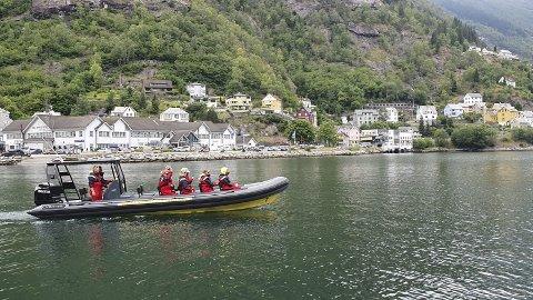 Ny: Her er den nye RIB-båten i Trolltunga Active.foto: pritvat