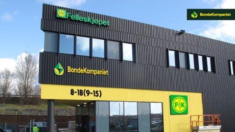 SKIFTER NAVN: Flere butikker har allerede fått nye skilt, men den offisielle åpningen av nye butikker med nye navn er 10. mars.