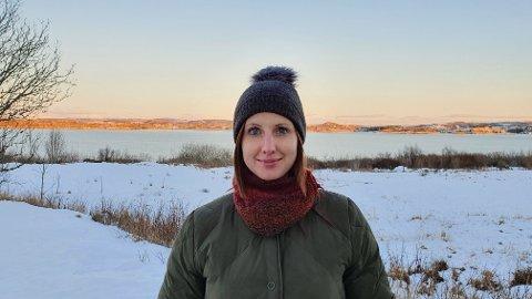 KLAR TALE: Lærer Aslaug Kongshavn kommer med en oppfordring til innbyggerne i Karmøy.