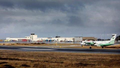NY KONTRAKT: Widerøe Ground Handling får nye oppgaver på Haugesund lufthavn fra 1. juni .