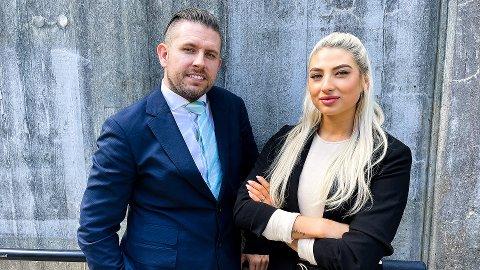 """INFLUENSERBYRÅ: Christine Urrang og Ronnie Kristensen har startet influncerbyrået """"Influencer Value"""" i Bergen."""