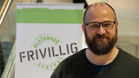 Lars Lauritzen leder TV-aksjonen i Alstahaug.