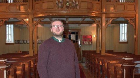 Sandnessjøen menighet har fått en ny kantor, noe korene også kan glede seg over. Paul-Andrè Nilsen Grande kommer fra Bjugn/Ørlandet.