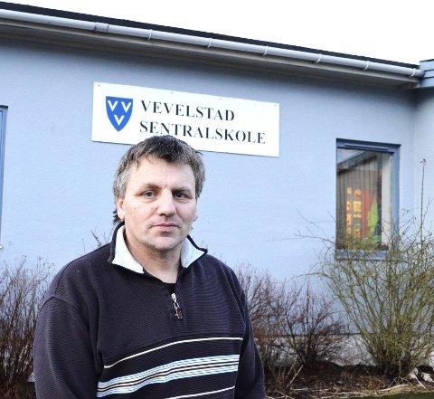 Rektor: Tidligere rektor Asbjørn Sørfjord har sagt opp.