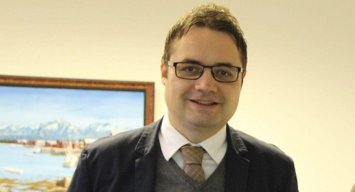 Slutter: Øyvind Løvdahl slutter som administrerende direktør i TTS etter to år og går over i stillingen som banksjef i Sparebank 1 Nord-Norge.