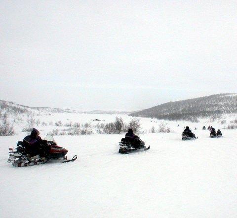 Snøskuterløype: Det blir løyper i Hattfjelldal i år også.