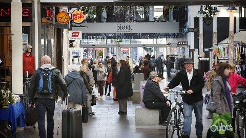 Stemningen snur? Det norske folk gir uttrykk for at de tror bunnen er nådd for norsk økonomi.illustrasjonsfoto: Tom Melby