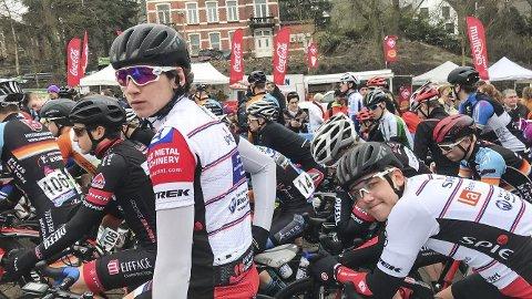 I FORM: Daniel Årnes gjorde en flott figur i Frankrike i pinsa. Sandnessjøen-syklisten markerte seg i alle tre rittene i den franske klassikeren. Foto: Svein Halvor Moe