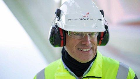 Arne Sigve Nylund mener levetidsforlengelse er svært god ressursforvaltning.