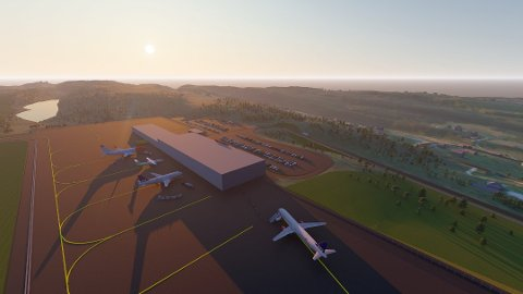 HAUAN: PLU informerte for et år siden at Peab Anlegg AS får kontrakten med å bygge flyplassen. Et år senere sier Avinor at vurderinger i en tredjepartsvurdering kan påvirke kontraktsforhandlingene.