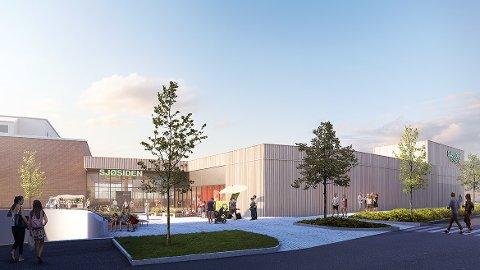 Utvider: Jobben med å utvide Sjøsiden senter går snart i gang, og to nye aktører butikker er nå bekreftet.