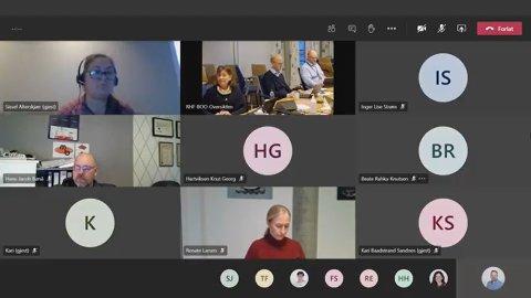 Helse Nord arrangerte onsdag et digitalt styremøte.