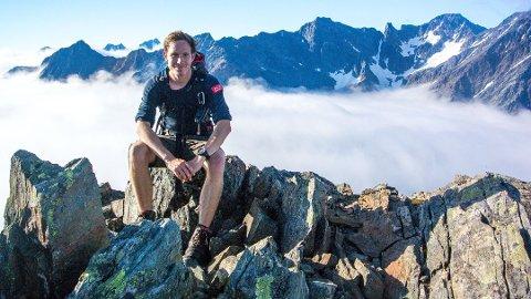 Et helt år var Andreas Orset eventyrer på fulltid. Foto: Alfas Eventyrerer Andreas Orset