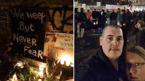 I PARIS: Tommy Jensen fra Fuglenes havnet i dramaet i Paris.