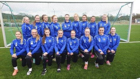 VINNERE: Polarstjernens fotballgruppe vant årets Fair Play-pris i Finnmark fotballkrets.