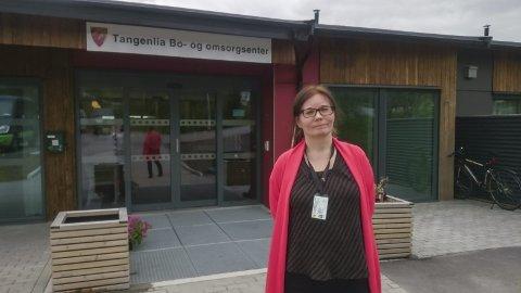 Vernepleier: Avdelingsleder Irene Arvola er selv vernepleier, og vet hvor viktig det er å få på plass den rette kompetansen.  foto: Kristine Marie Nordal
