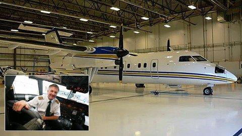 HANGARDRONNING: Lenge sto flyet fast i en hangar i Canada. Nå er den kjøpt for en 'rørende pris'.
