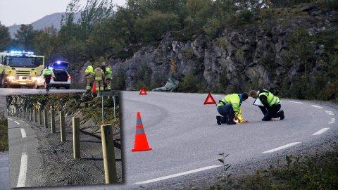 48 år gamle Kurt Iversen Sæter fra Bjørnevatn omkom da han kjørte av veien med en MC ved Strømmen bru mellom Kirkenes og Høybuktmoen flyplass 10.09.14.