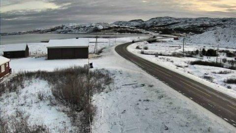 FÅR NY BRU: I september skal brua over Nyelv være ferdig. Foto: Statens vegvesen