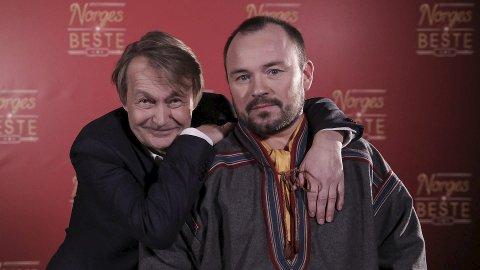 POPULÆR DUO: Nils Gaup og Mikkel Gaup Foto: TV 2